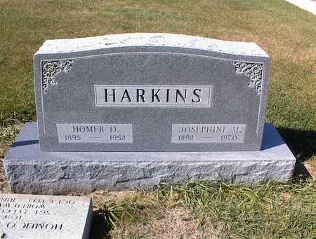 HARKINS, JOSEPHINE M - Guthrie County, Iowa | JOSEPHINE M HARKINS