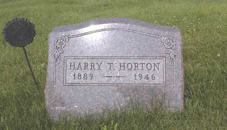HORTON, HARRY T. - Guthrie County, Iowa | HARRY T. HORTON