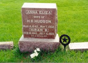 HUDSON, HIRAM B. - Guthrie County, Iowa | HIRAM B. HUDSON