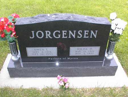 JORGENSEN, HILDA - Guthrie County, Iowa | HILDA JORGENSEN