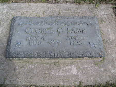 LAMB, GEORGE C. - Guthrie County, Iowa | GEORGE C. LAMB