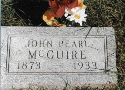 MCGUIRE, JOHN PEARL - Guthrie County, Iowa | JOHN PEARL MCGUIRE