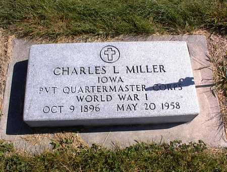 MILLER, CHARLES L - Guthrie County, Iowa | CHARLES L MILLER