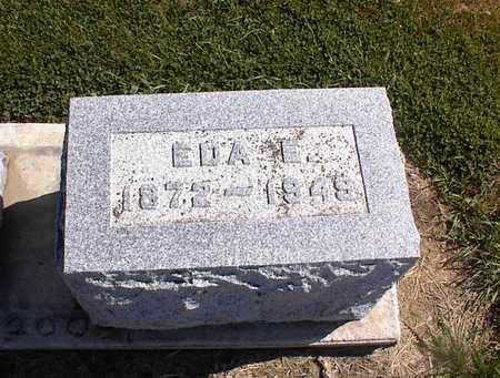 MILLER, EDA E - Guthrie County, Iowa | EDA E MILLER