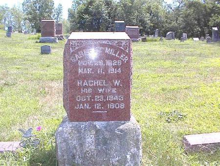 MILLER, RACHEL W. - Guthrie County, Iowa | RACHEL W. MILLER