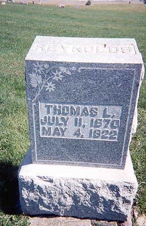REYNOLDS, THOMAS - Guthrie County, Iowa | THOMAS REYNOLDS