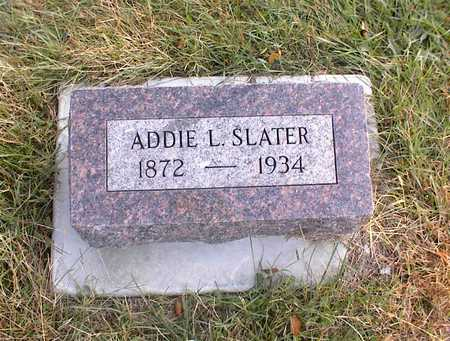 SLATER, ADDIE L. - Guthrie County, Iowa | ADDIE L. SLATER