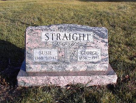 STRAIGHT, GEORGE - Guthrie County, Iowa | GEORGE STRAIGHT