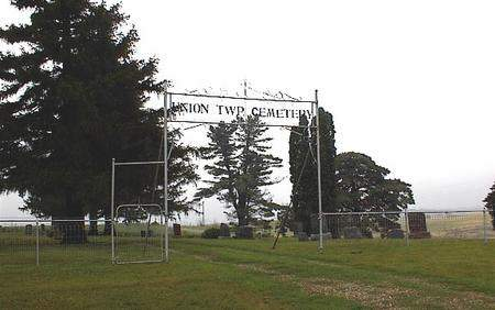 UNION TOWNSHIP, CEMETERY - Guthrie County, Iowa | CEMETERY UNION TOWNSHIP
