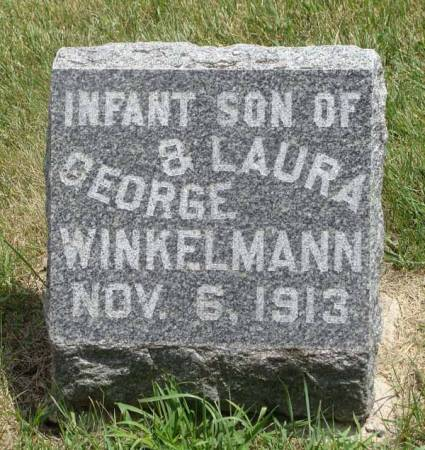 WINKELMANN, INFANT SON - Guthrie County, Iowa | INFANT SON WINKELMANN