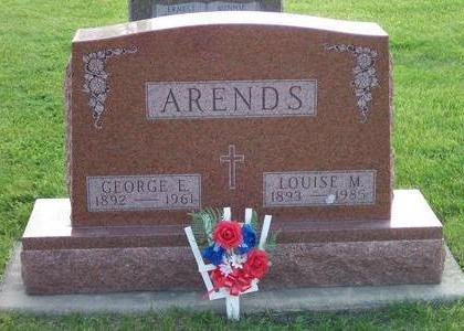 ARENDS, GEORGE E. - Hamilton County, Iowa | GEORGE E. ARENDS