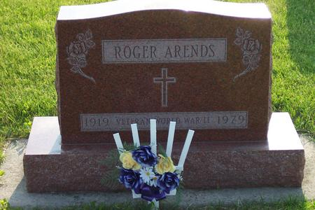 ARENDS, ROGER - Hamilton County, Iowa | ROGER ARENDS
