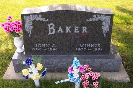 BAKER, MINNIE - Hamilton County, Iowa | MINNIE BAKER