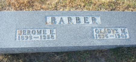 BARBER, JEROME ELLSWORTH - Hamilton County, Iowa | JEROME ELLSWORTH BARBER