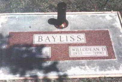 BAYLISS, WILLODEAN - Hamilton County, Iowa | WILLODEAN BAYLISS