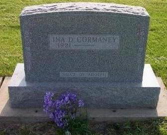 CORMANEY, INA D. - Hamilton County, Iowa | INA D. CORMANEY