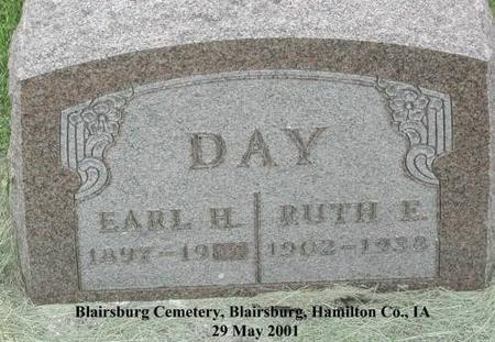 DAY, EARL H - Hamilton County, Iowa | EARL H DAY