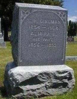 DANIELS DINGMAN, ALMIRA A. - Hamilton County, Iowa | ALMIRA A. DANIELS DINGMAN