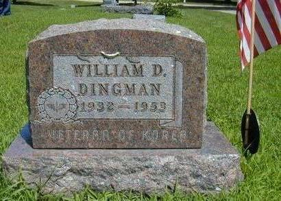 DINGMAN, WILLIAM DALE - Hamilton County, Iowa | WILLIAM DALE DINGMAN