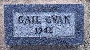 EVAN, GAIL - Hamilton County, Iowa | GAIL EVAN