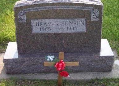 FONKEN, HIRAM G. - Hamilton County, Iowa | HIRAM G. FONKEN