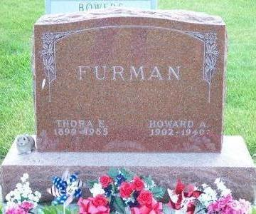 FURMAN, HOWARD A. - Hamilton County, Iowa | HOWARD A. FURMAN