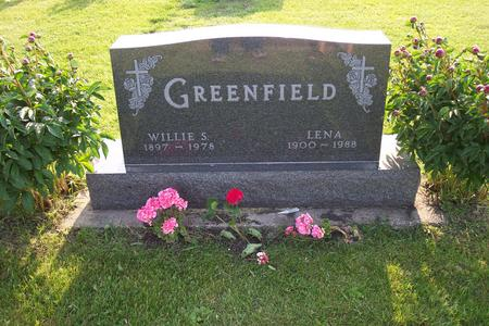 GREENFIELD, WILLIE S. - Hamilton County, Iowa | WILLIE S. GREENFIELD