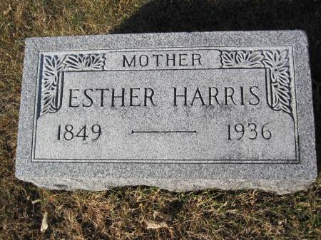HARRIS, ESTHER - Hamilton County, Iowa | ESTHER HARRIS