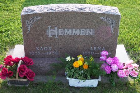 HEMMEN, KAOS - Hamilton County, Iowa | KAOS HEMMEN