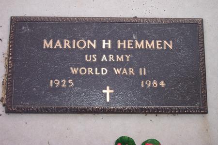 HEMMEN, MARION H. - Hamilton County, Iowa | MARION H. HEMMEN