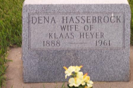 HEYER, DENA - Hamilton County, Iowa | DENA HEYER