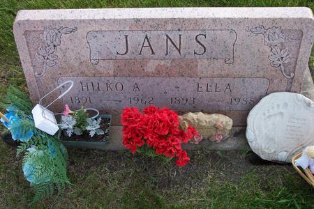 JANS, ELLA - Hamilton County, Iowa | ELLA JANS