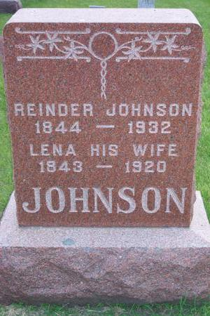 JOHNSON, LENA - Hamilton County, Iowa | LENA JOHNSON