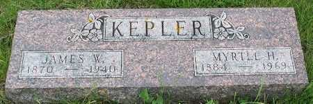 COURTER KEPLER, MYRTLE H. - Hamilton County, Iowa | MYRTLE H. COURTER KEPLER