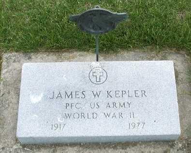 KEPLER, JAMES W. - Hamilton County, Iowa | JAMES W. KEPLER