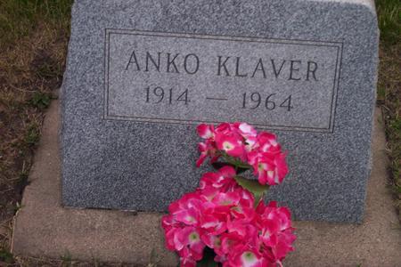 KLAVER, ANKO - Hamilton County, Iowa | ANKO KLAVER
