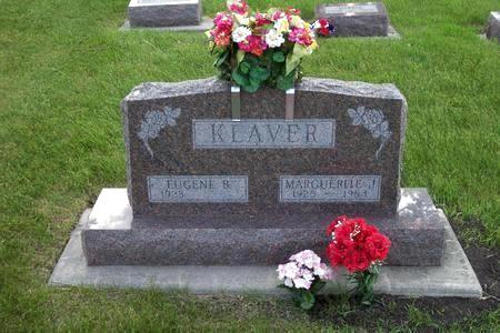KLAVER, MARGUERITE J. - Hamilton County, Iowa | MARGUERITE J. KLAVER