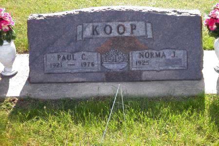 KOOP, PAUL C. - Hamilton County, Iowa | PAUL C. KOOP