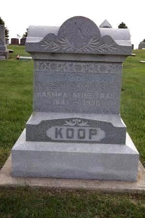 SCHAA KOOP, HARMKA - Hamilton County, Iowa | HARMKA SCHAA KOOP
