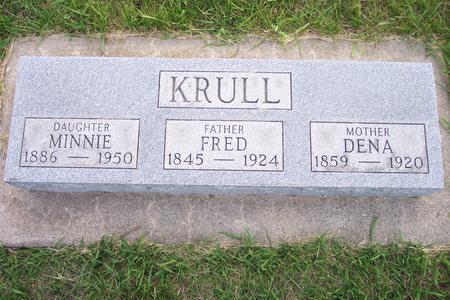 KRULL, MINNIE - Hamilton County, Iowa | MINNIE KRULL