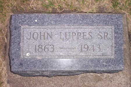 LUPPES, JOHN J. SR. - Hamilton County, Iowa | JOHN J. SR. LUPPES