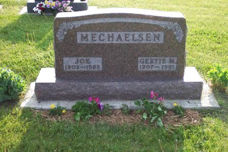 MECHAELSEN, JOE - Hamilton County, Iowa | JOE MECHAELSEN
