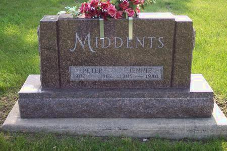 MIDDENTS, JENNIE - Hamilton County, Iowa | JENNIE MIDDENTS