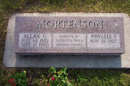 MORTENSON, ALLAN - Hamilton County, Iowa | ALLAN MORTENSON