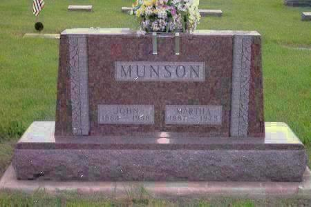 MUNSON, MARTHA - Hamilton County, Iowa | MARTHA MUNSON