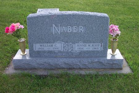 KOOP NABER, JENNIE W. - Hamilton County, Iowa | JENNIE W. KOOP NABER