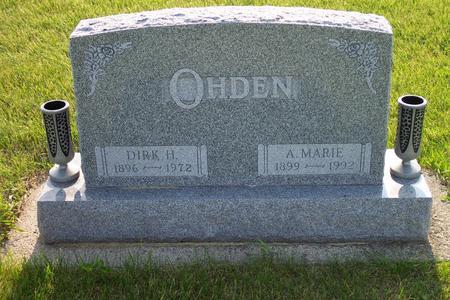 OHDEN, DIRK H. - Hamilton County, Iowa | DIRK H. OHDEN