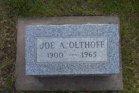 OLTHOFF, JOE A. - Hamilton County, Iowa | JOE A. OLTHOFF