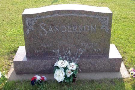 KOOP SANDERSON, BERTHA - Hamilton County, Iowa | BERTHA KOOP SANDERSON