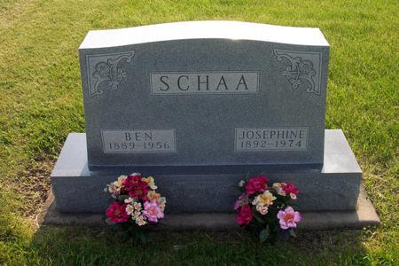 SCHAA, BEN - Hamilton County, Iowa | BEN SCHAA